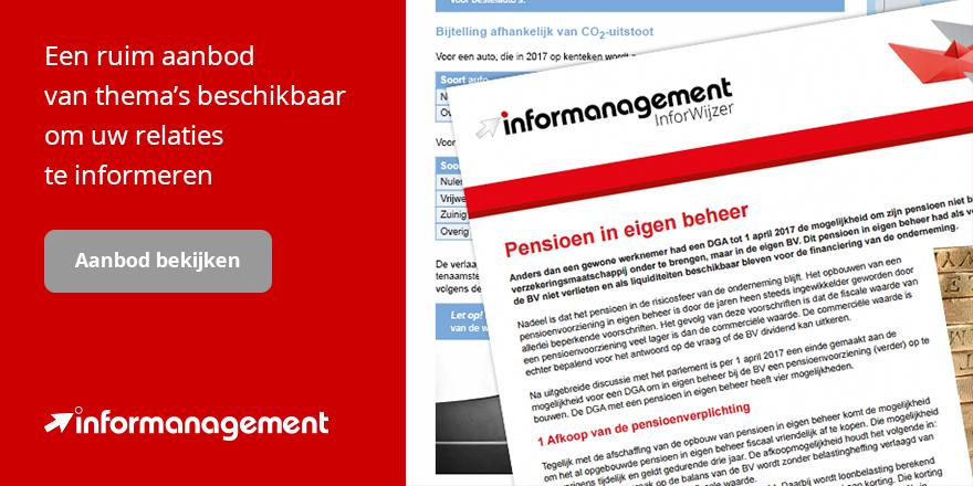 InforWijzers aanbod Informanagement