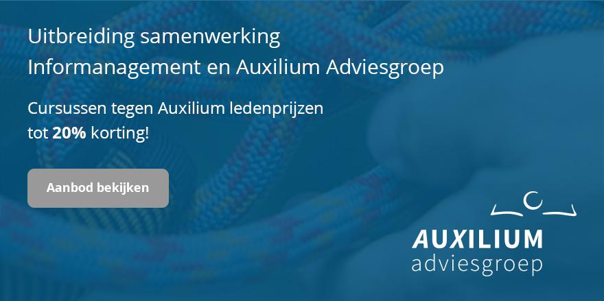 Samenwerking Auxilium Adviesgroep