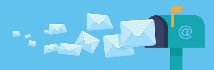 maandelijkse e-mailnieuwsbrief